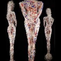 - ACRYL WOMEN - Acrylglas und Forex - 210 x 60 x 60 cm - 2011.jpg (1)