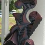 - ENTSPANNUNG - Holz und Acryl - 80 x 50 x 40 cm - 2003