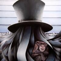 - EVOLUZIONE - Pastellkreide auf Leinwand - 100 x 80 cm - 2009