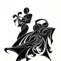 - LIRA - Fotogramm - 50 x 6o cm - 2003