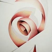 -  SOTTOSOPRA 5 - Pastellkreide auf Leinwand - 70 x 50 cm, 2010