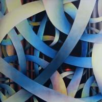 -SYNAPSEN - Pastellkreide auf Leinwand - 160 x 120 cm - 2010