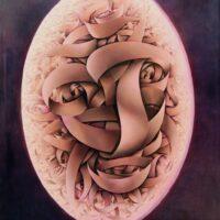 RITRATTO-DELANTENATO-Pastellkreide-auf-Leinwand-180-x-160-cm-2011